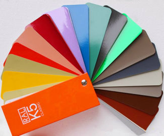 Ral K5 Paint Color Cards / Chart Paperboard Material Folded Leaflet Binding
